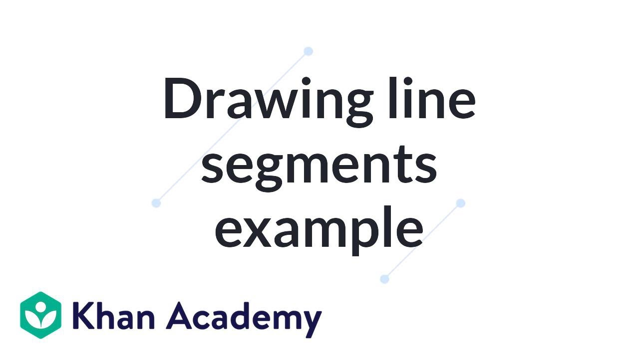 what is an example of a line segment