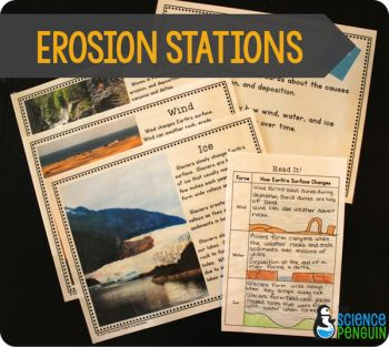 give 5 example of erosion