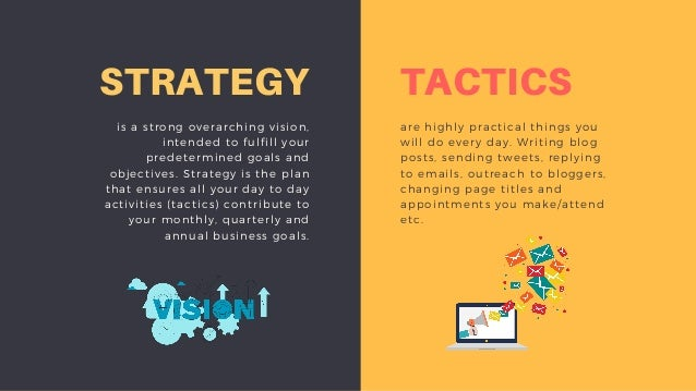 difference between strategy and plan with example