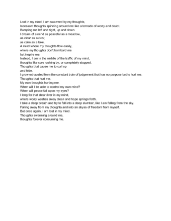 example of free verse poem about love
