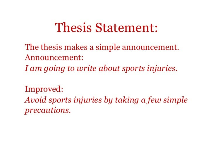 example of research paper about sports