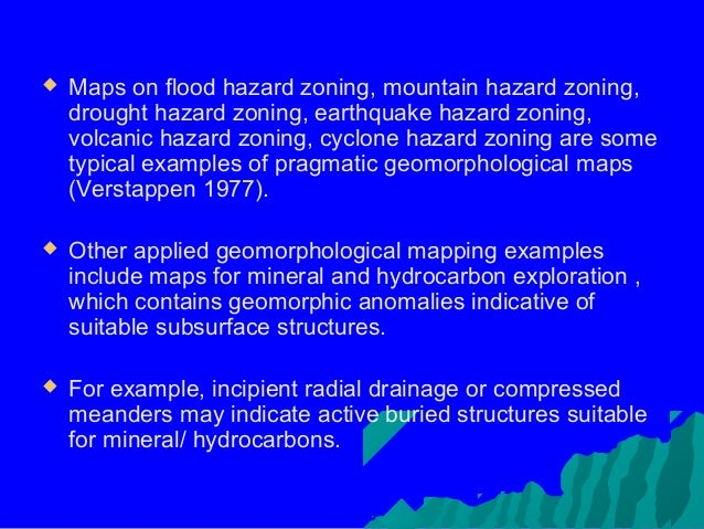 what is a natural hazard example