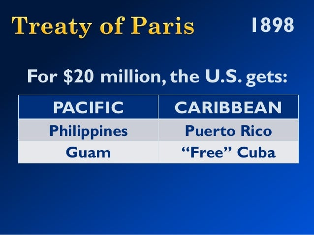 why is the phillipines and cuba an example of imperialism