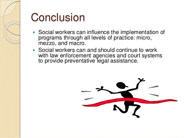 example of macro social work practice