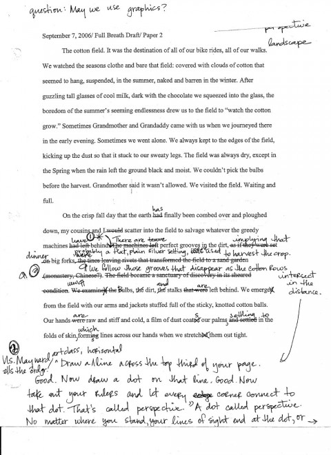 how to write dialogue in an essay example
