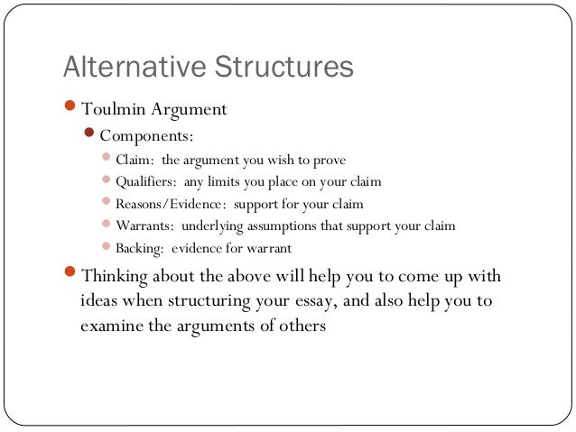 esc english essay structure outline example