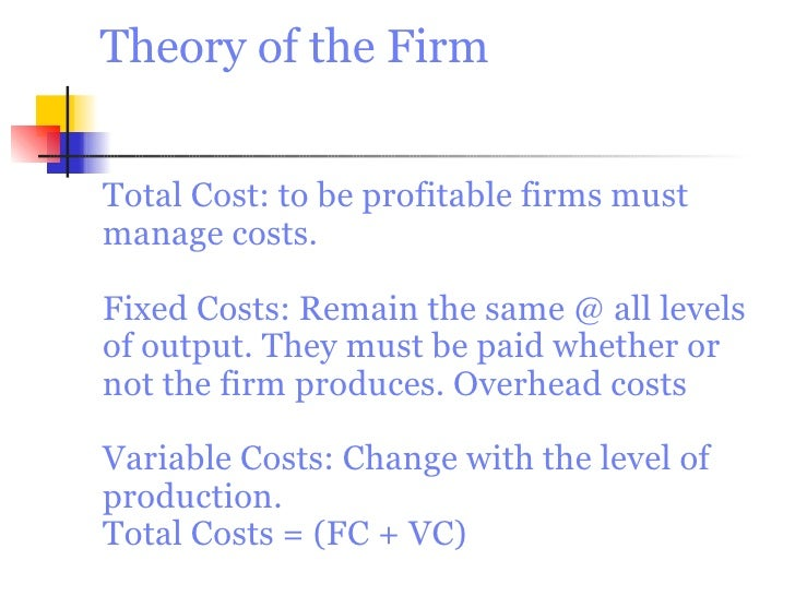 example of total cost in economics