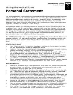 example personal statement for medical school uk