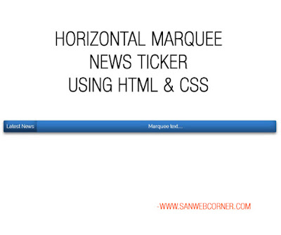 marquee in html example images